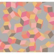 Cole & Son: Puzzle 105/2010.CS.0 Pink and Orange