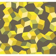 Cole & Son: Puzzle 105/2012.CS.0 Yellow and Black