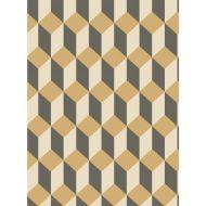 Cole & Son: Delano 105/7030.CS.0 Black and Gold