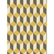 Cole & Son: Delano 105/7032.CS.0 Yellow and Black