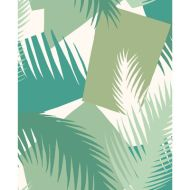 Cole & Son: Deco Palm 105/8037.CS.0 Green