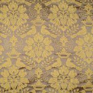 Scalamandre: Love Bird SC 0013 1098MM Chocolate & Gold