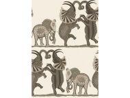 Cole & Son WP: Ardmore Safari Dance 109/8036.CS.0 Neutral & Charcoal