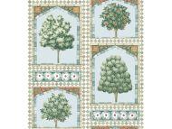 Cole & Son WP: Martyn Lawrence Bullard Sultan's Palace 113/10030.CS.0 Print Room Blue & Duck Egg