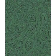Cole & Son WP: Fornasetti Malachite 114/17035.CS.0 Emerald/Black