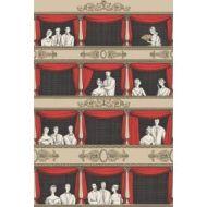 Cole & Son WP: Fornasetti Teatro 114/18037.CS.0 Rouge