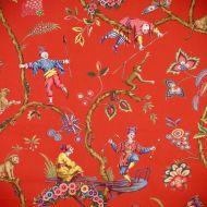 Scalamandre: Chinoise Exotique SC 0002 WP81547 Tomato