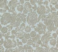 Scalamandre: Elsa Linen Print SC 0002 16606 Silver on Skylight