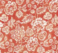 Scalamandre: Calais Linen Print SC 0003 16607 Coral