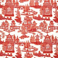 Schumacher: Nanjing 174430 Coral