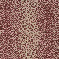 Schumacher: Iconic Leopard 175726 Raisin/Natural