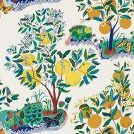 Josef Frank for Schumacher: Citrus Garden Indoor/Outdoor 177330 Primary