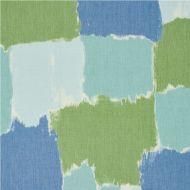 Schumacher: Colorblock Ikat 178470 Aqua