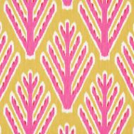 Schumacher: Bodhi Tree 178560 Yellow & Pink