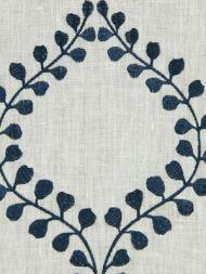 Robert Allen: Winding Leaves 221756 Cobalt