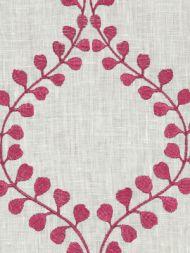 Robert Allen: Winding Leaves 221757 Raspberry