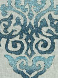 Robert Allen: Scrolling Art 225283 Aquamarine
