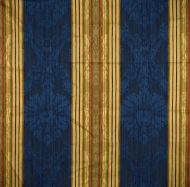 Scalamandre: Santa Margarita SC 0004 26166 Multi on Cobalt
