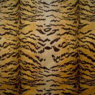 Scalamandre: Tigre SC 0001 26167MM Ivory, Gold & Black