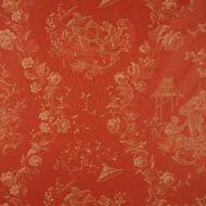 Scalamandre: Racconigi CL 0004 26259 Rosso