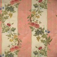 Scalamandre: Villa Lante Stripe CL 0006 26401 Multi on Rose