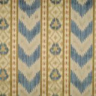Scalamandre: Ungherese Rigato CL 0002 26416 Multi Blues & Creams