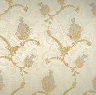 Scalamandre: Vivaldi CL 0001 26715 Silver & Gold on Ivory