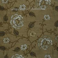 Scalamandre: Flowdery CL 0005 26818 Brown on Brown