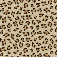 Scalamandre: Broderie Leopard SC 0002 27075 Chocolate on Sand