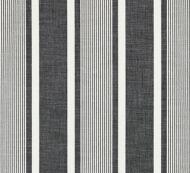 Scalamandre: Wellfleet Stripe SC 0005 27111 Carbon