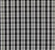 Scalamandre: Preston Cotton Plaid SC 0006 27122 Noir