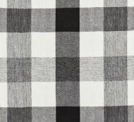 Scalamandre: Westport Linen Plaid SC 0009 27135 Noir