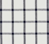 Scalamandre: Wilton Linen Check SC 0004 27152 Navy