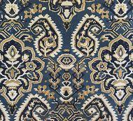 Scalamandre: Oushack Linen Velvet SC 0002 27171 Indigo