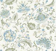 Scalamandre: Delphine Embroidery SC 0001 27173 Summer Sage