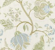 Scalamandre: Palampore Embroidery SC 0001 27175 Summer Sage