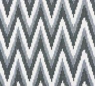 Scalamandre: Adras Ikat Weave SC 0005 27185 Carbon