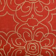John Robshaw for Duralee: 32395-31 Coral