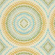 Kravet: Painted Mosaic 32987.435.0 Turquoise