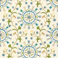 Kravet: Suzani Garden 33073.513.0 Blue Sky