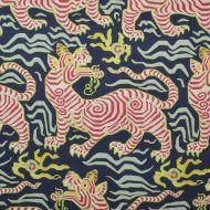 Clarence House: Tibet Print 1830503 Navy