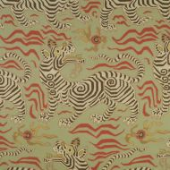 Clarence House: Tibet Print 1830504 Pale Green