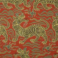 Clarence House: Tibet Print 1830505 Cinnabar
