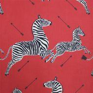 Scalamandre: Zebras Indoor/Outdoor SC 0001 36378 Masai Red