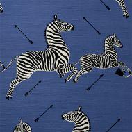 Scalamandre: Zebras Indoor/Outdoor SC 0005 36378 Denim