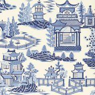 Schumacher: Nanjing WP 5006911 Porcelain