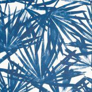 Schumacher: Sunlit Palm WP 5010562 Blue