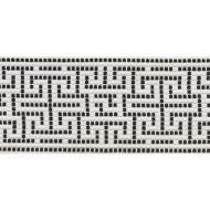 Schumacher: Maze Tape Indoor/Outdoor 75952 Black