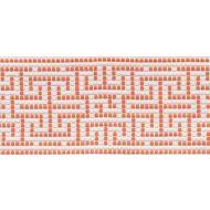 Schumacher: Maze Tape Indoor/Outdoor 75953 Orange
