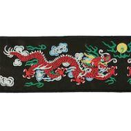 Schumacher: Lili Dragon Tape 78170 Black